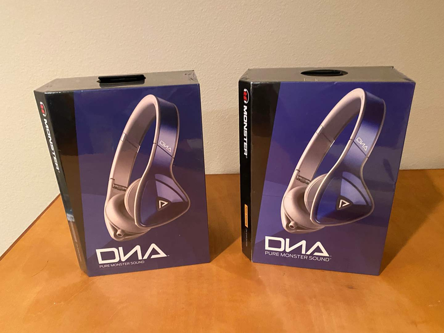 Lot # 149 - Two New in Box Monster DNA Headphones (main image)