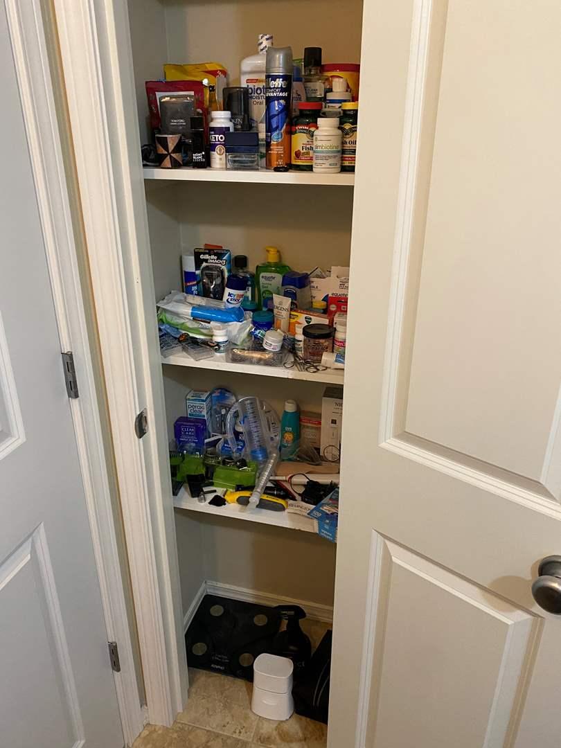 Lot # 161 - Closet Full of Personal Hygiene, Medicines, Bathroom Items & More (main image)