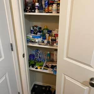Lot # 161 - Closet Full of Personal Hygiene, Medicines, Bathroom Items & More