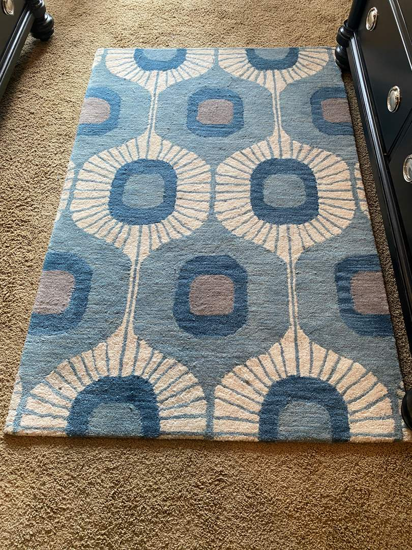 """Lot # 166 - Nice Wool """"Bashian"""" Are Rug - (See Pictures for Size) (main image)"""