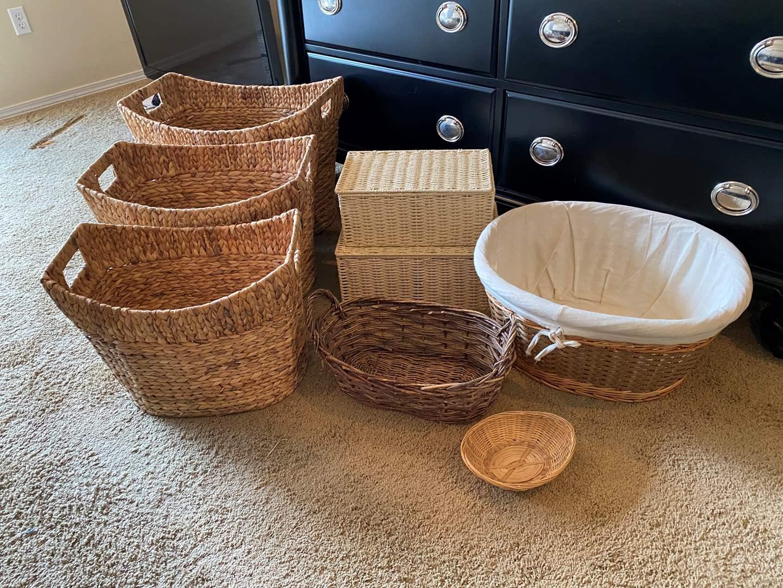Lot # 175 - Selection of Nice Baskets (main image)