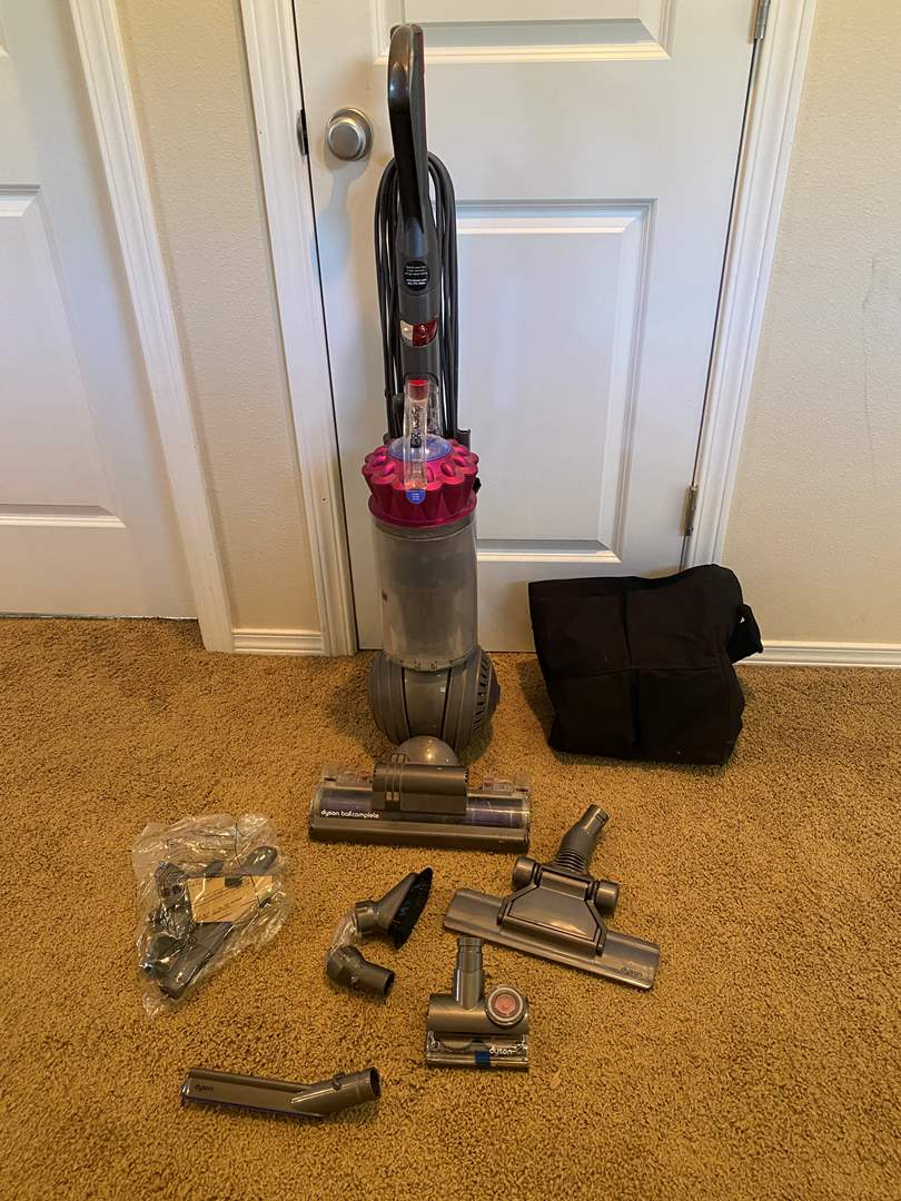 Lot # 187 - Dyson DC 65 Dyson Ball Complete Vacuum - (Works Great) (main image)