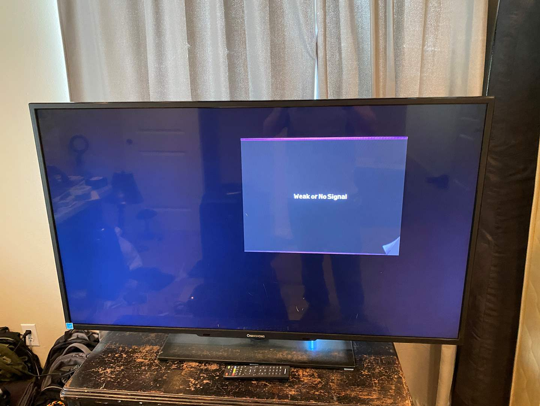 "Lot # 189 - ""ChangHong"" 49"" Flat Screen TV - (Works) (main image)"