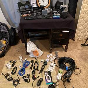 Lot # 199 - Bose Earbuds, Fuji-Film Camera, Office Supplies, HDMI Cords, Ethernet Cords, New Items & More