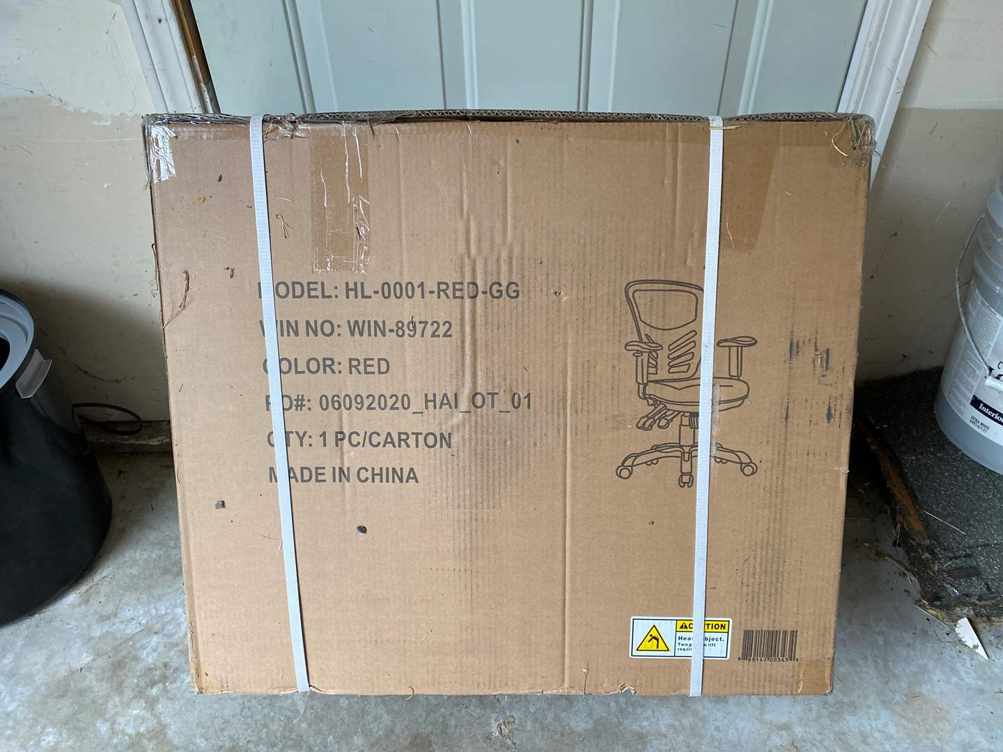 Lot # 238 - New in Box Office Chair (main image)