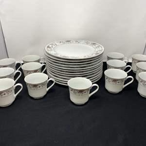 """Lot # 100 - Twenty-Five Piece Set of """"Claremont"""" Fine Porcelain China"""