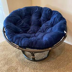 Lot # 110 - Nice Like New Papasan Chair from Pier-1-Imports