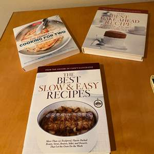Lot # 153 - Three New Cooking Books