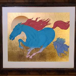 """Lot # 12 Guillaume Azoulay """"Equus"""""""