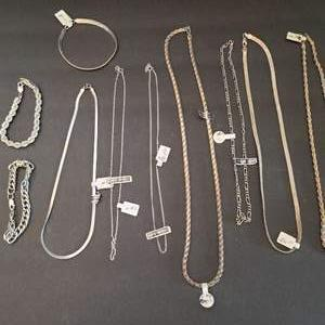Lot # 39 Sterling Silver Jewelry 5.04 Ounces-Will Ship