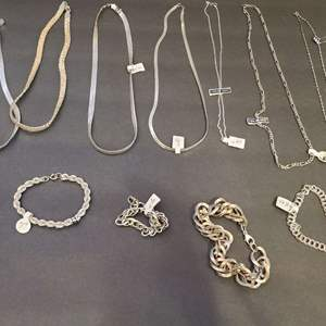Lot # 42 Sterling Silver Jewelry 6.81 Ounces-Will Ship