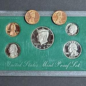 Lot # 57 Two 1989 Denver Mint Pennies & Mint Proof Set- Will Ship