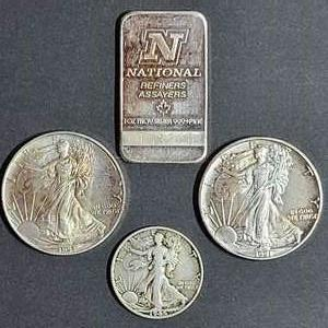 Lot # 58 Assorted Silver- Will Ship
