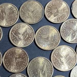 Lot # 60 25 Sacajawea Dollar Coins- Will Ship