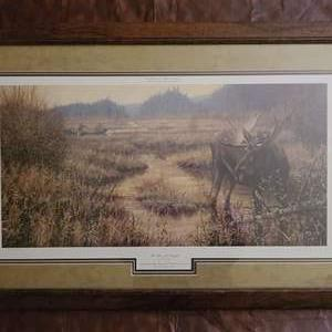 """Lot # 72 """"Too Close For Comfort"""" by Paco Young- Framed, Signed & Numbered"""