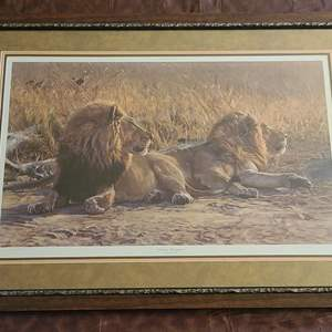 """Lot # 73 """"Distant Movement"""" by John Banovich- Framed, Signed & Numbered"""