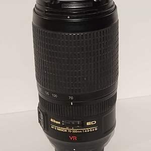 Lot # 85 Nikon AF-S Nikkor 70-300mm F/4.5-5.6G ED VR IF Zoom Lens