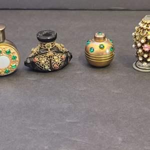 Lot # 93 Vintage Mini Parfum Bottles