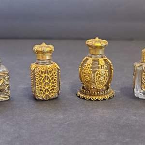 Lot # 94 Vintage Mini Parfum Bottles