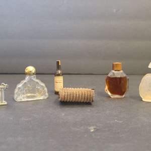 Lot # 95 Mini Parfum Bottles