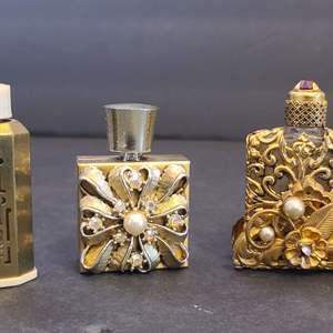 Lot # 97 Mini Parfum Bottles