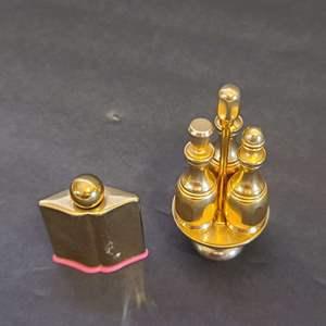 Lot # 98 Vintage Mini Parfum Bottles