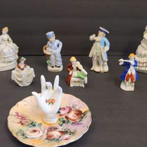 Lot # 105 Porcelain Figurines