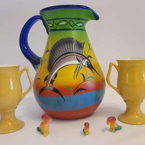 Lot # 151 Hall Mugs & More