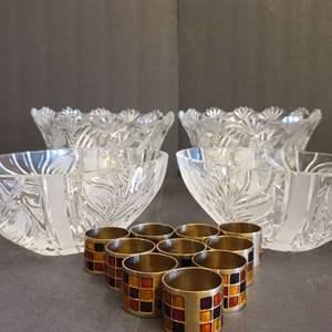 Lot # 154 Crystal Bowls & More