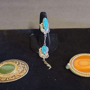 Lot # 166 Asst. Native American Jewelry