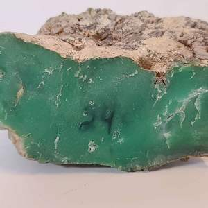 Lot # 172 Apple Green Mary Borough Queensland Australian Chrysoprase