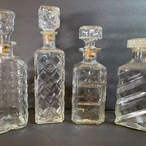 Lot # 178 Crystal Decanters