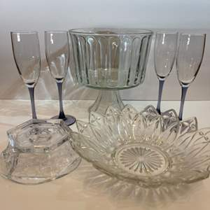 Lot # 180 Formal Glassware