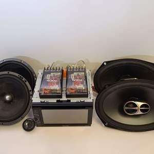 Lot # 206 Pioneer, Focal & Alpine Car Audio Components
