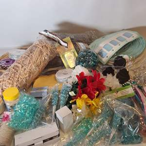 Lot # 237 Teal Party Decor