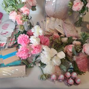 Lot # 238 Baby Shower Decorations