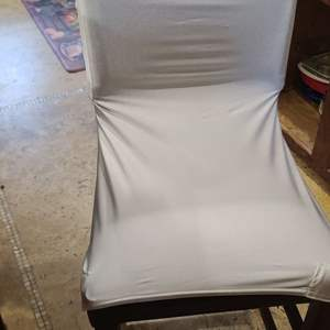Lot # 242 Cloth Chair Covers #1