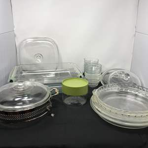 Lot # 51 - Lot of Pyrex Baking Dishes & More