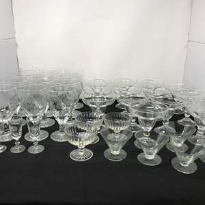 Lot # 55 - Lot Of Stemware Of Various Sizes