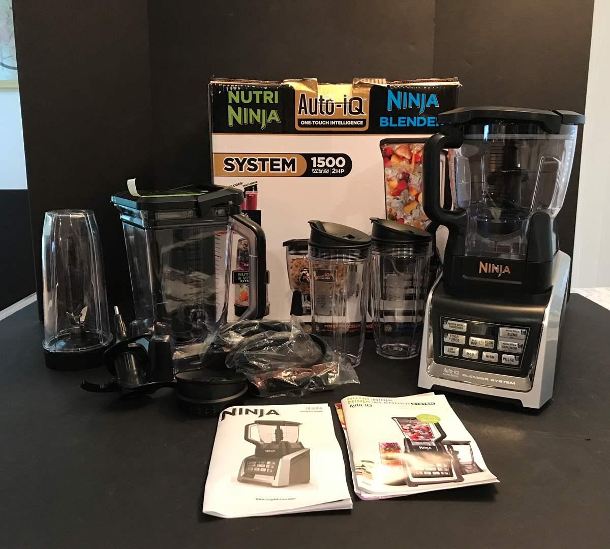 Lot # 62 - New Auto-IQ Nutri Ninja Blender System Model #BL680A (main image)