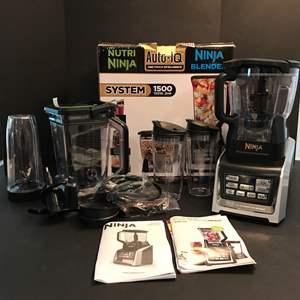 Lot # 62 - New Auto-IQ Nutri Ninja Blender System Model #BL680A