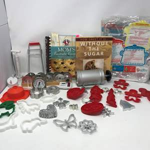 Lot # 68 - Lot Of Cookie Cutters & More