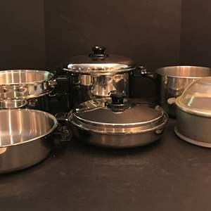 Lot # 71 - Lot Of Misc. Pots & Pans