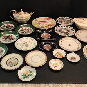 Lot # 74 - Lot Of Misc. Collectors Plates, Teapot & More