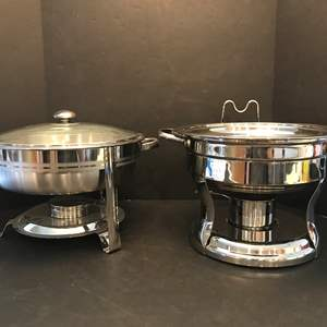 Lot # 79 - 2 Chafing Dishes