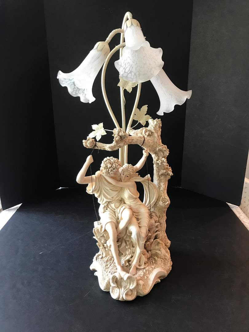 Lot # 91 - Beautiful Decorative Lamp (See Photos For Label) (main image)