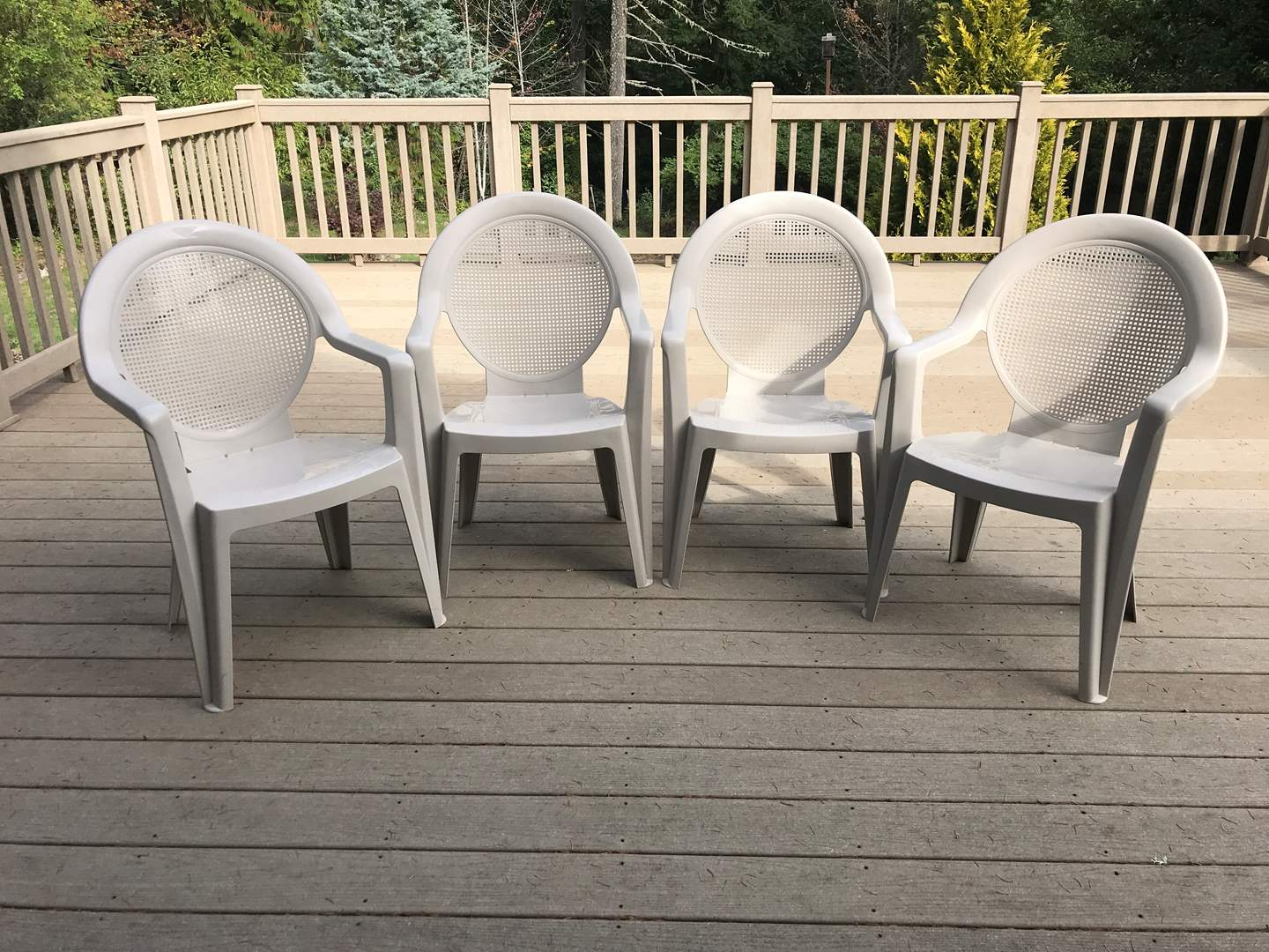 Lot # 95 - 4 Lawn Chairs  (main image)