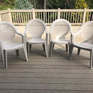 Lot # 95 - 4 Lawn Chairs