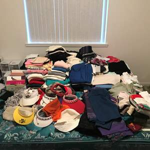 Lot # 98 - Large Lot Of Women's Clothing (See Photos For Sizes & Brands)
