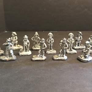 Lot # 212 - Lead Goldminer Figurines